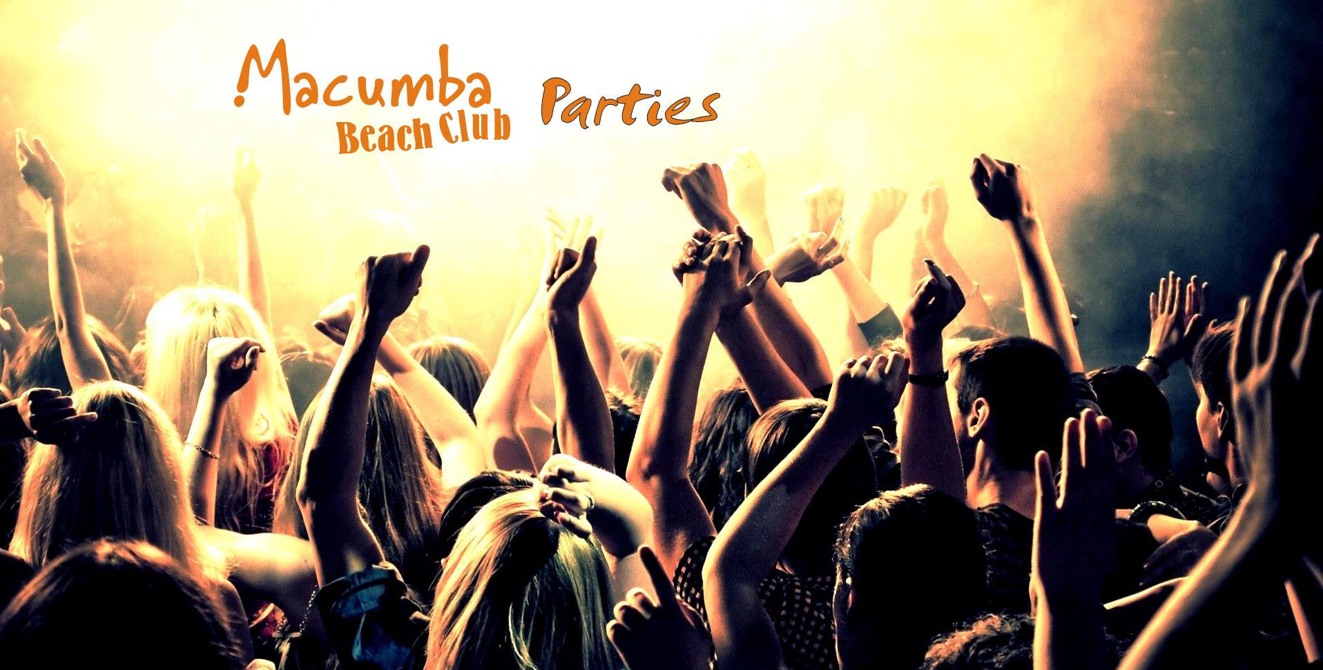Macumba beach club events